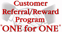 The customer referal program