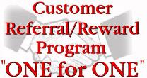 The customer referal program